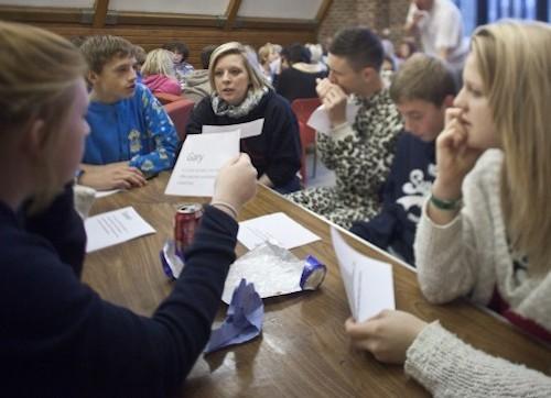 Year 10 Canterbury High School at Carroty Wood, November 2011